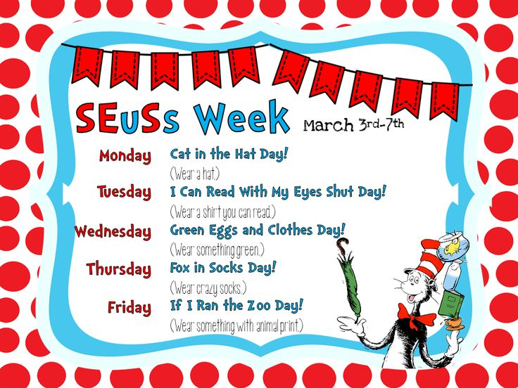 Smithville Elementary Library: Happy Birthday, Dr. Seuss