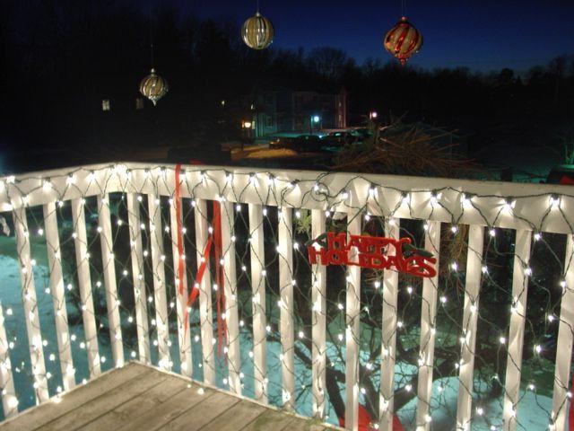 25 Best Apartment Christmas Ideas On Pinterest Decor. Christmas Balcony  Google Search
