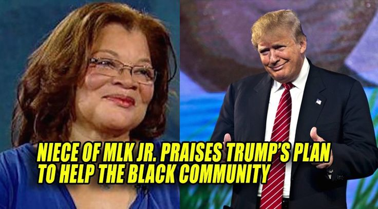 The niece of Martin Luther King Jr., Dr Alveda King praised Trump's plan to…