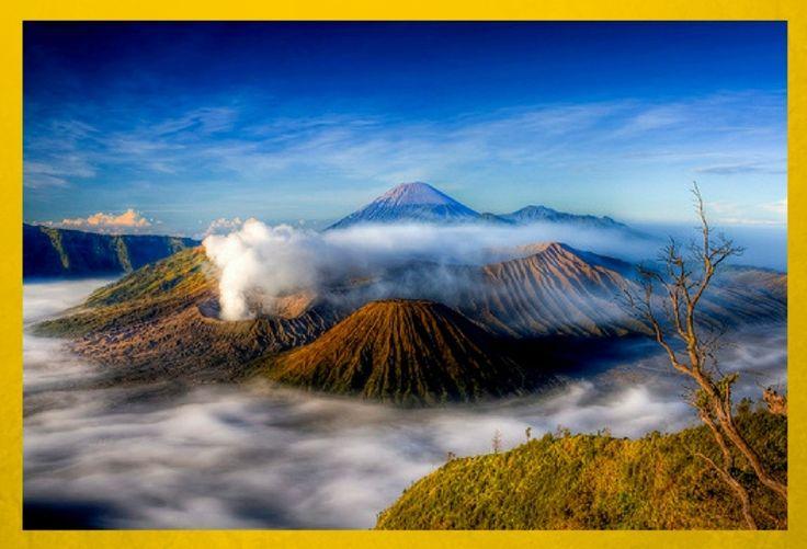 Bromo | Sebutkan 5 Gunung di Pulau Jawa