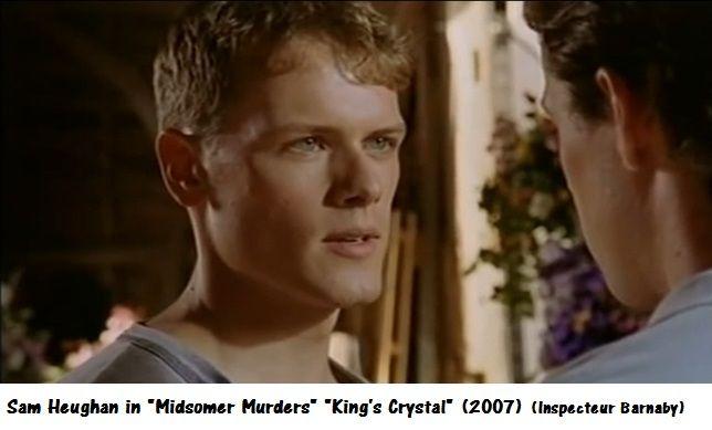 """Sam Heughan in """"Midsomer Murders"""" King's Crystal (2007). (Inspecteur Barnaby)."""