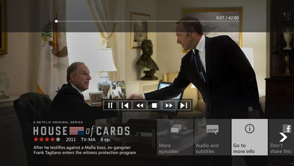 Netflix Originals - Xbox by Trevor Cleveland, via Behance