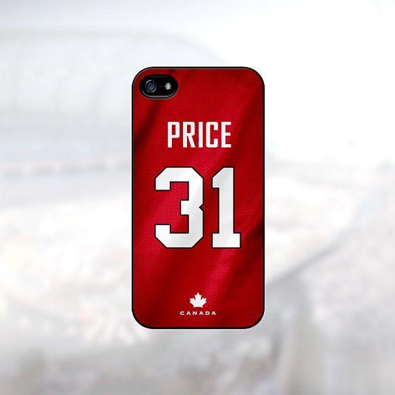 Carey Price Team Canada Sochi Olympics 2014 Case by PhoneJerseys, $16.99