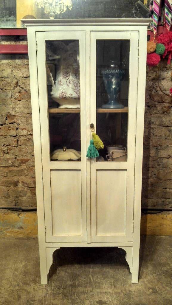 Armario Antiguo Pintado ~ 17 mejores ideas sobre Aparador De Cocina en Pinterest Almacenamiento de comedor, Barra de