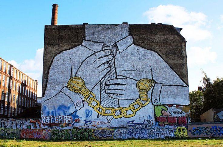Seni Jalanan Lukisan Mural di Kota Berlin, Jerman 2