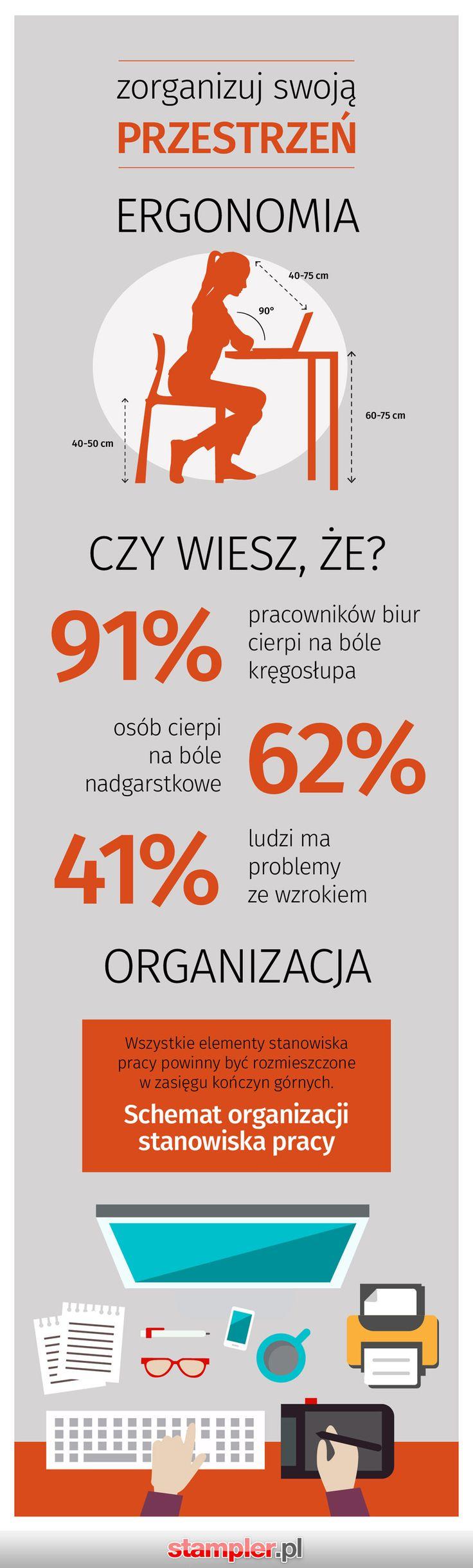 Organizacja miejsca pracy biurowej  #praca #biuro
