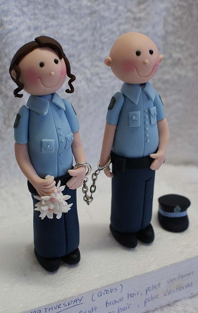 Police Couple by Verusca's Cake, via Flickr