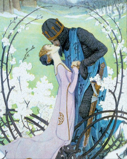 "assemblyfairytale: "" Snow White, 1905 by Heinrich Lefler """