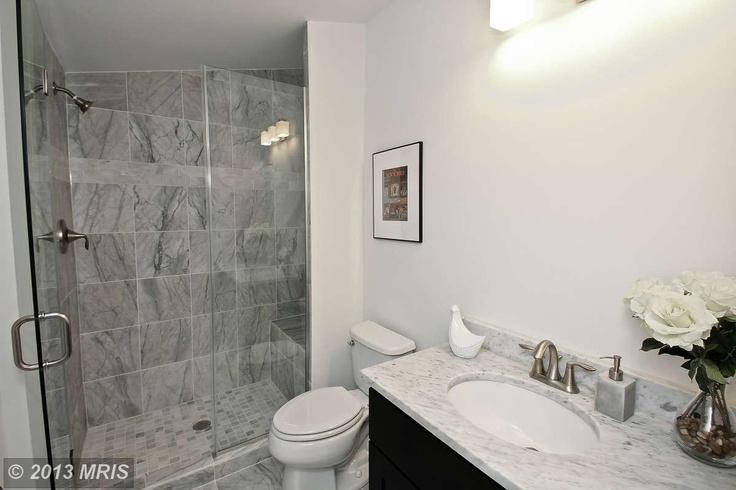 Grey Marble Bathroom : lovely grey marble bathroom  Bathroom  Pinterest