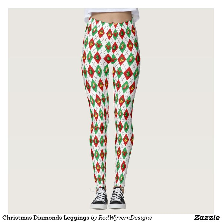 Christmas Diamonds Leggings