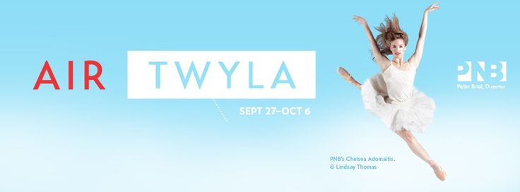 Enjoy an evening of premiere dance performances by the Pacific Northwest Ballet and Twyla Tharp during the Air Twyla shows September 27-October 6.