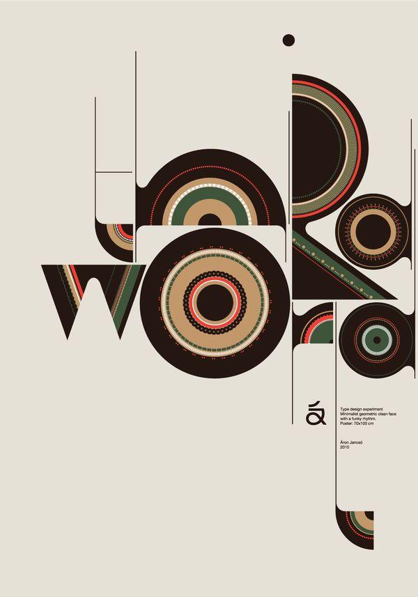 Qalto typeface: Art Illustrations, Aron Jancso, Aron Jansco, Qalto Typefac, Types Design, Graphics Design, Typographic Posters, Áron Jancsó, Design Posters