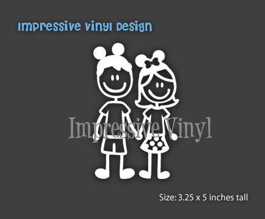 Best Images About Stick Families On Pinterest Couple Pets - Couple custom vinyl decals for car