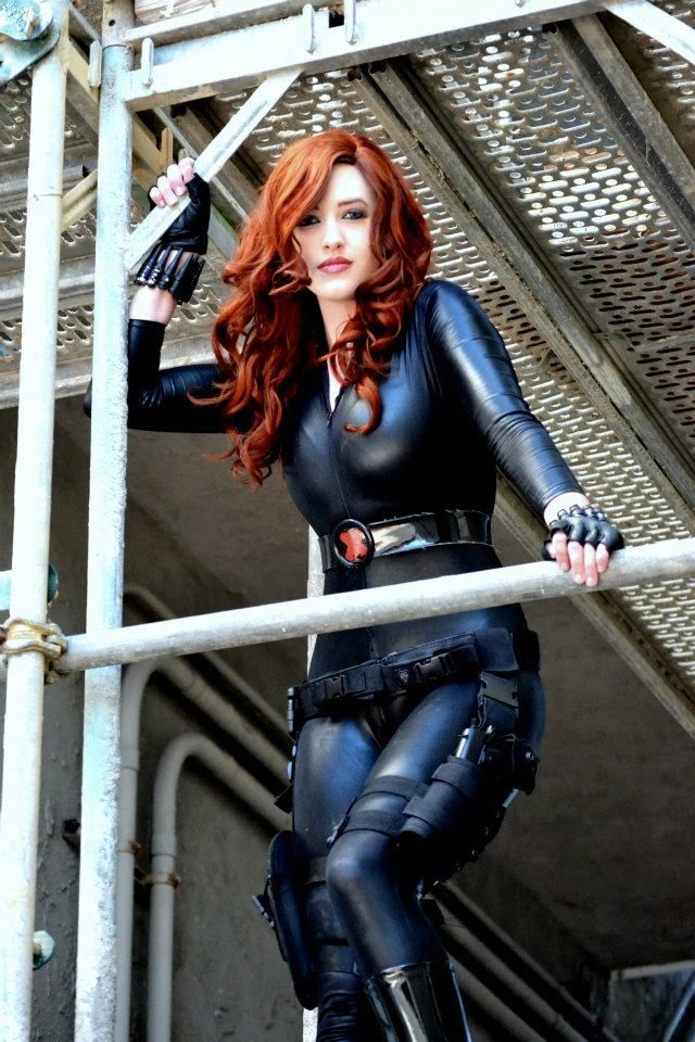 Black Widow Cosplay. I usually don't like cosplays but this one is amazing.