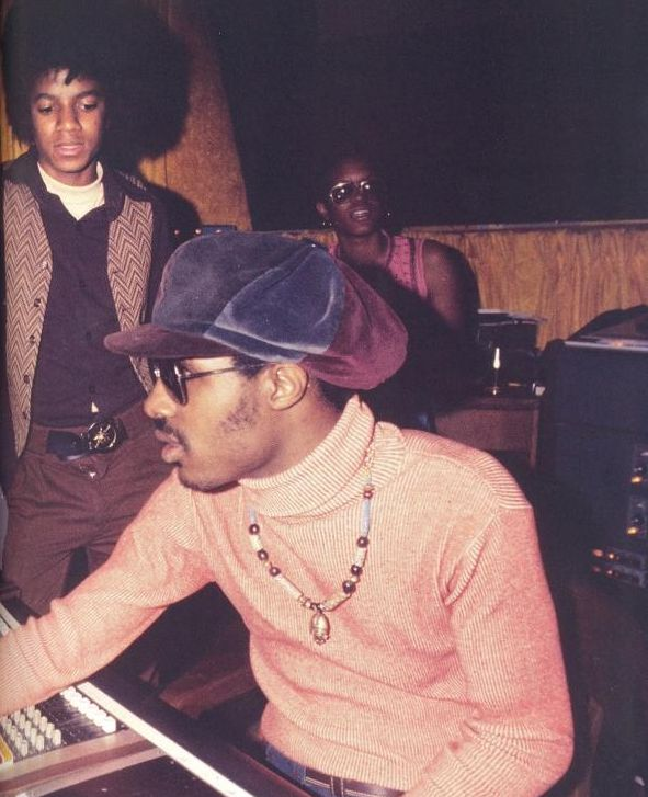 Stevie Wonder and Michael Jackson were both child prodigies beginning their careers at Motown Records in the 60's. They performed together on a few songs and Michael/Jackson 5 covered a number of Stevie's songs.