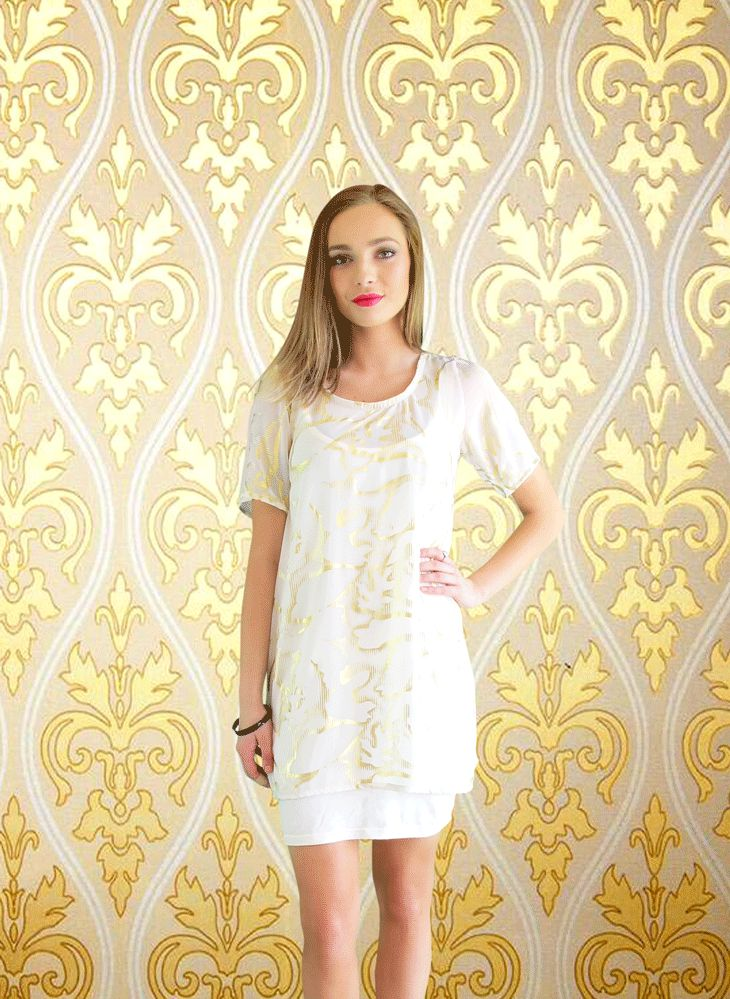 The Angelic Flossy Tunic Tank