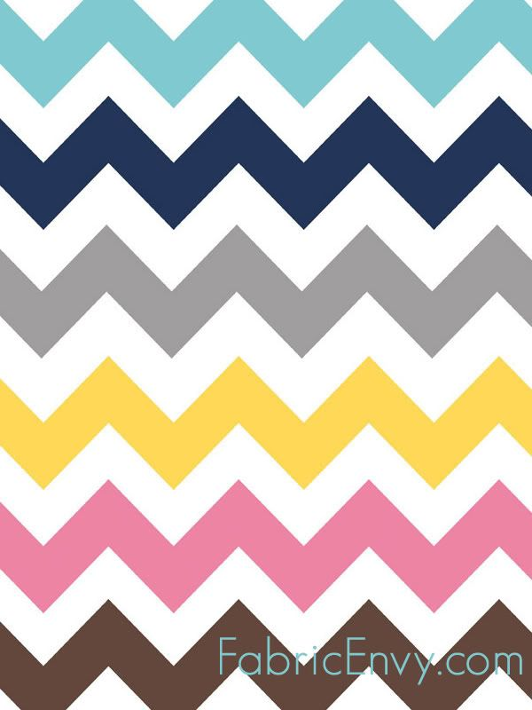 Chevron fabric print I would love to use for a throw pillow