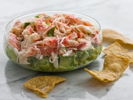 crab & avocado dip - a few tweaks (take out the mayo, sub in fat free ...