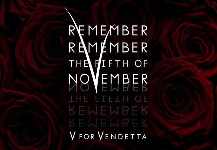 Type Quote #4. V for Vendetta