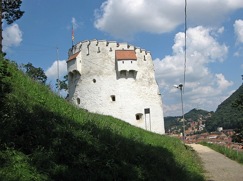 Turnul Alb - The white Tower in Brasov
