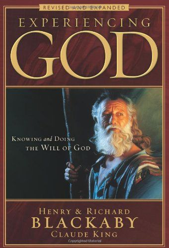 Experiencing God: Knowing and Doing the Will of God, Revised and Expanded by Henry Blackaby,http://www.amazon.com/dp/0805447539/ref=cm_sw_r_pi_dp_I.z7sb0TS8TBK5QF $6.75