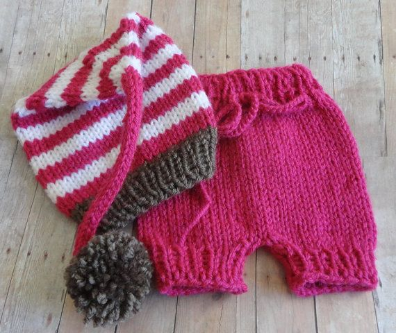 Baby Elf Hat Knitting Pattern : 17 Best images about Baby Hats - Knit Elf Tails on Pinterest Patterns, Bean...