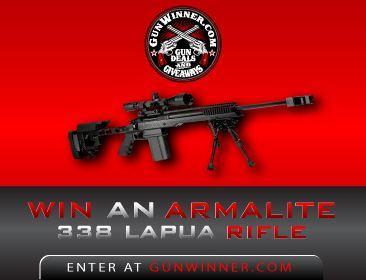 Win This Armalite AR-30A1 338 Lapua Target Rifle!