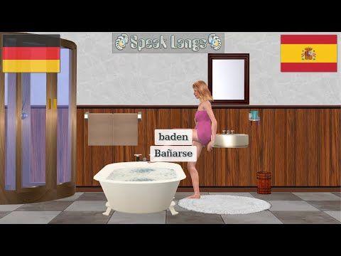 (48) aprender aleman | Actividades diarias | frutas | animales | 1 - YouTube