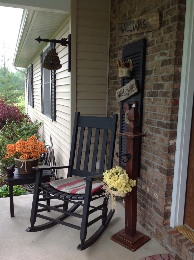 Country porch outside decorations pinterest celos as - Decoracion porches ...