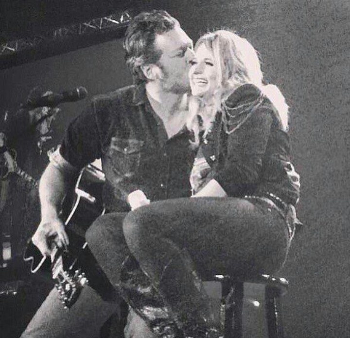 they have that adorable country music love that every girl dreams of. #miranda #blake #countrylove