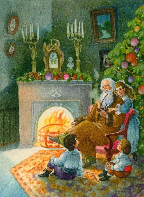 Зимняя сказка от Ольги Ионайтис