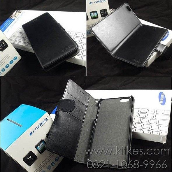 Melkco Wallet Book Case iPhone 6 Plus - Rp 120.000