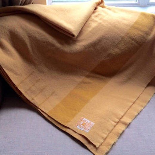 Love this Harvest Gold Midcentury blanket. Especially on cold weeks like this one!