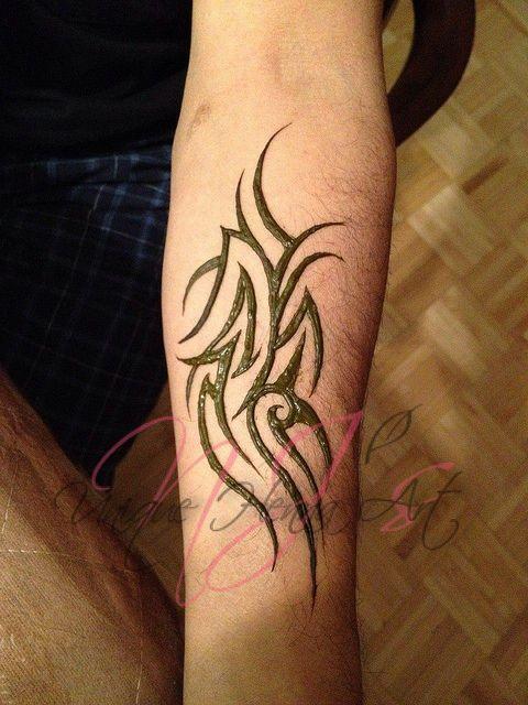 Tribal henna tattoo 2012 © NJ's Unique Henna Art | Flickr - Photo Sharing!