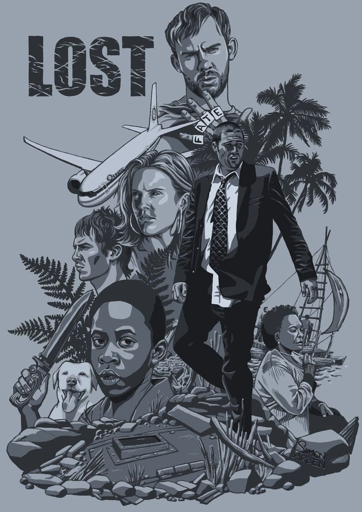Lost Season 1- my mom got me watching this and it's really good!