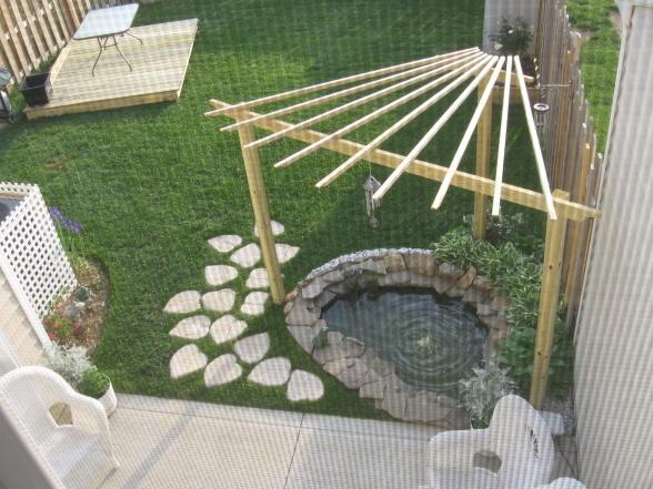 Garden Design With Pond garden design with pond patio eye level g and decorating