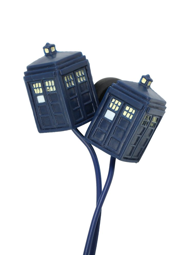 Doctor Who TARDIS Earbuds | Hot Topic