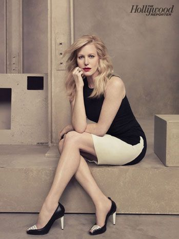 THR Emmy Roundtable: Behind-the-Scenes Photos of TV's Hottest Drama Actresses: Anna Gunn