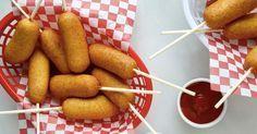 Fantástico! Receita de salsicha no palito - # #aperitivo #FestadeAniversário #Receitasfáceis #salsicha
