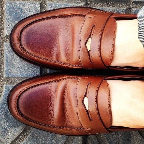 penny-loafer o zapatos castellanos