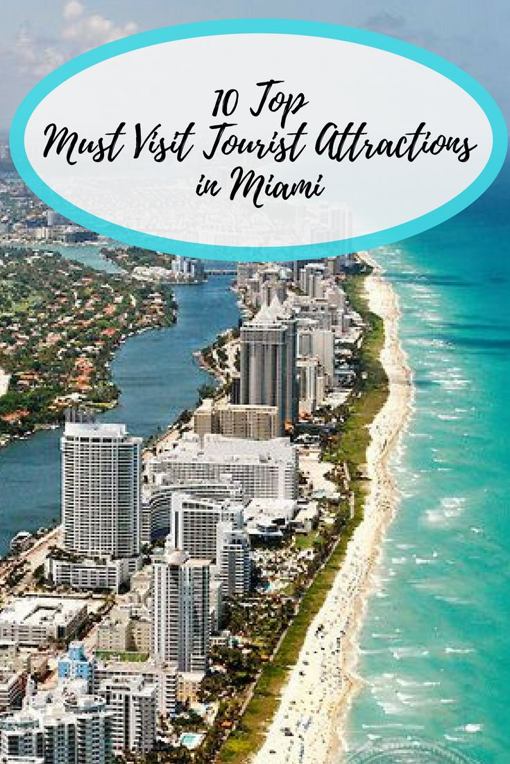 From the Art Deco buildings on Miami Beach to the colorful homes in Little Havana, there is an incredible array of tourist attractions in Miami for you to admire and enjoy.
