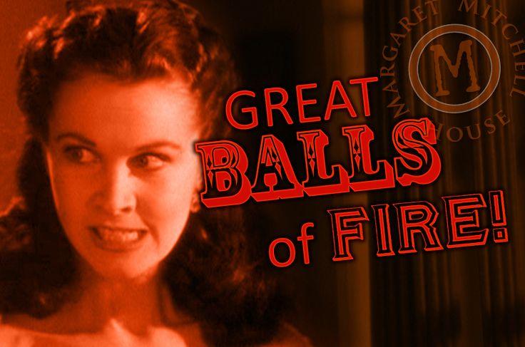 Great balls of fire! #gonewiththewind #gwtw #scarlett