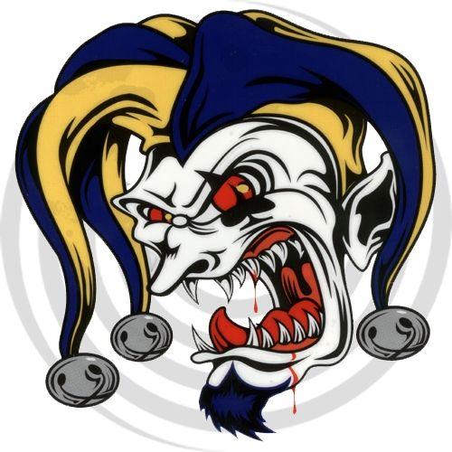 Wicked Jester Art | Tags wicked jester clown tattoo art flash