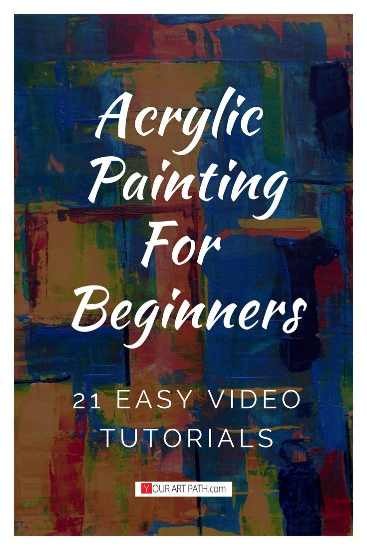 21 Best Free Acrylic Painting Lessons On Youtube Acrylic