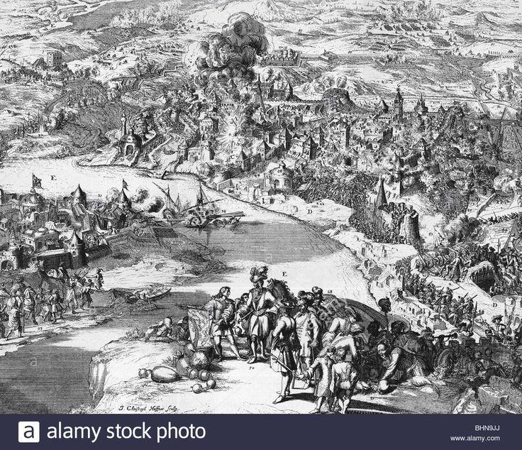 events, Great Turkish War 1683 - 1699, Siege of Ofen (Buda) 1684 ...
