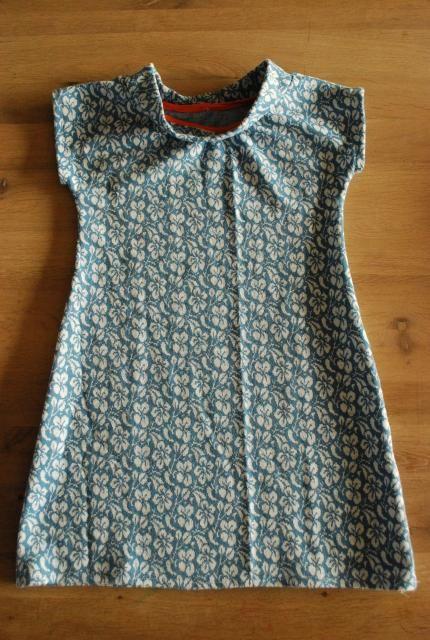 - Patroontekenen: eenvoudige stretchjurk. « Tantehilde.be Knofje jurk