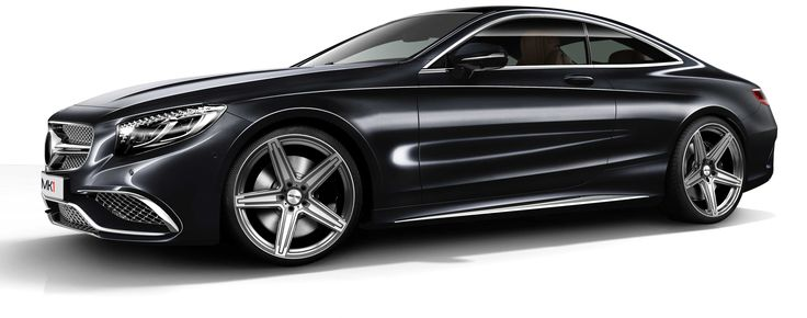 Mercedes-Benz S Coupe with MK1 Black Diamond professional alloy wheels GMP Italia made in Italy / Mercedes-Benz S Coupe con cerchi in lega professionali MK1 Nero Diamantato GMP Italia made in Italy http://www.gmpitalia.com/alloy-wheel-collection/8-mk1-concave