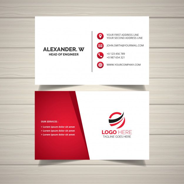 Abstract Business Card Business Card Design Free Business Cards