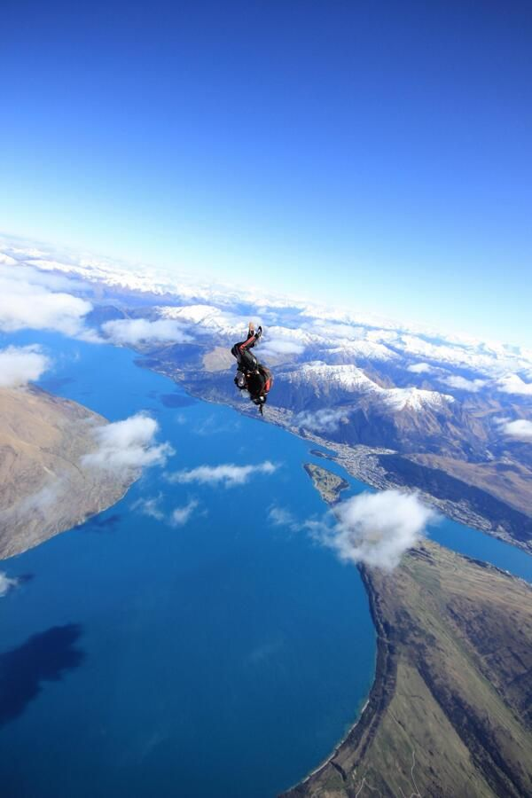 @1stanwalker Still keen for us to throw you out of a plane Stan? Check out the view today
