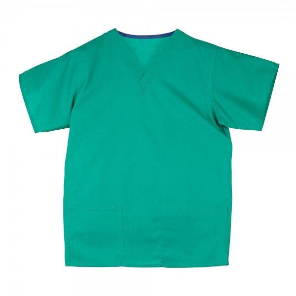 Budget Scrub Top in Green £9.99   #medicalscrubs #nursescrubs  #nurses #greenscrubs #nurseuniform